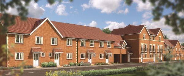 New homes at Gallons Way, Locks Heath