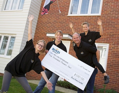 Image for Charity really does begin at home for fundraising West Sussex family