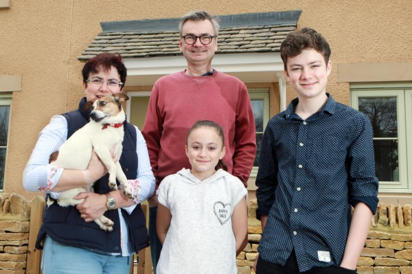 Image for Four becomes five for Fairford family