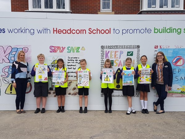 Image for Students get creative for Headcorn hoarding