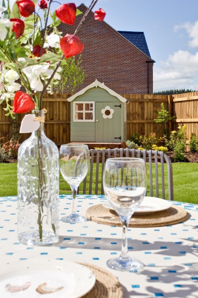Enjoy a garden party at Bovis Homes this weekend