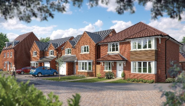 Bovis New Homes in Droitwich at former medals office