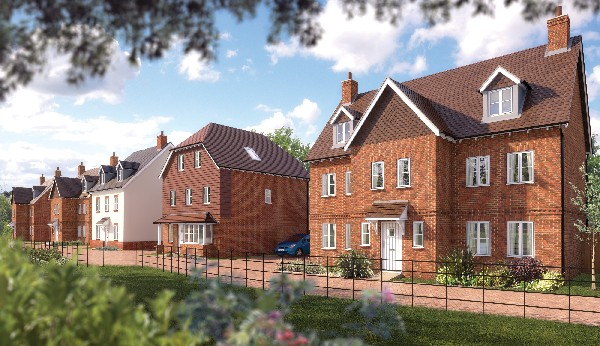 Showhome opening at Langshott Park