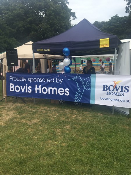 Image for Bovis Homes back Hursley event