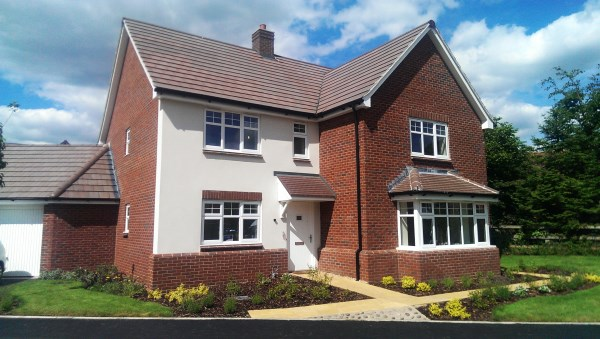 Show home launch event in Powick