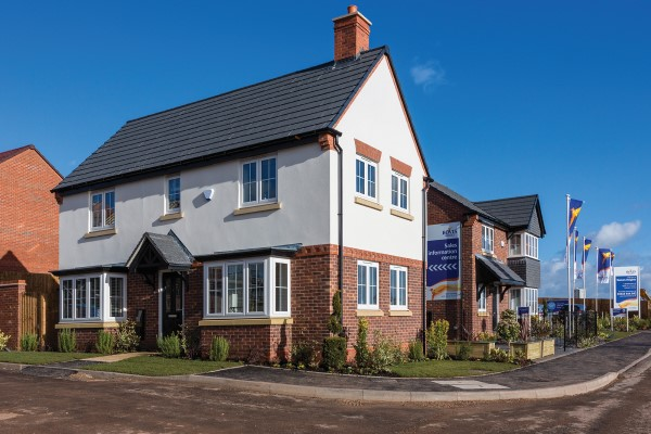 Bovis Homes' Roman Heights development