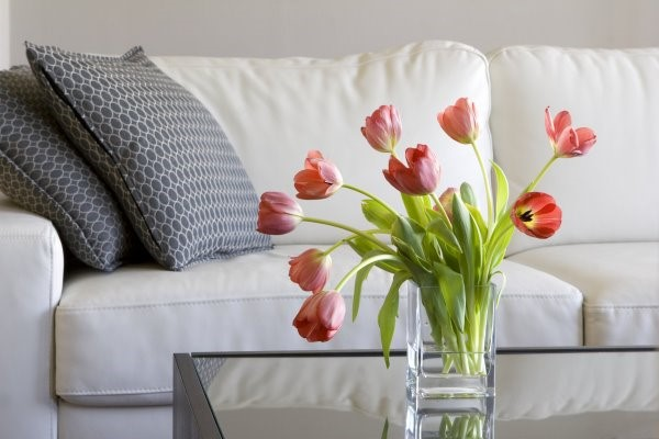 Flower decoration in your new home