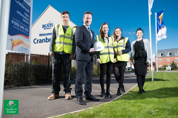 Employees from Bovis Homes South West region