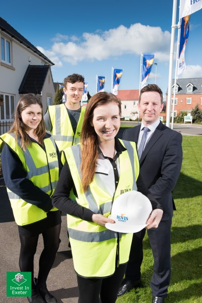 Bovis Homes apprentices