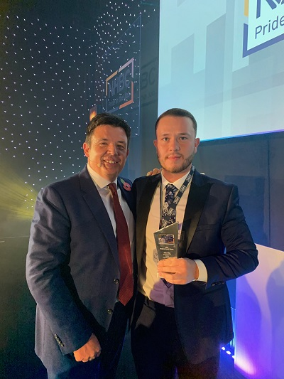 Image for Young Milton Keynes housebuilder highlights quality-first approach with major award win