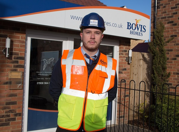 Image for Jack, 23, wins national Seal of Excellence award for his work at Milton Keynes housebuilder