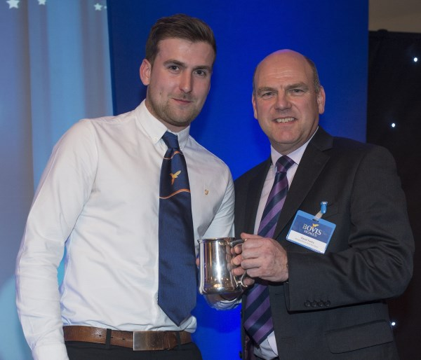 Bovis Homes apprentice winner Jack Baber
