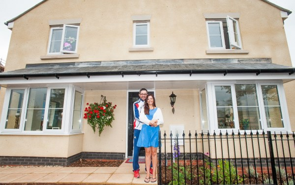 Sarah and James used Help to Buy to purchase their new Bovis Home