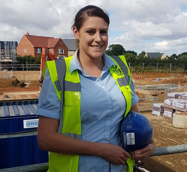 Image for Labouring job laid the foundations for Katie's successful career in home building