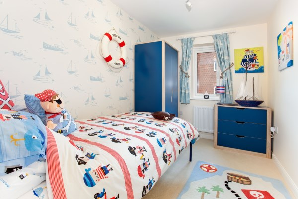 Pirate themed bedroom