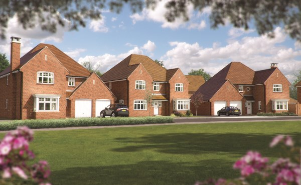 New Homes at Kilnwood Vale, Faygate
