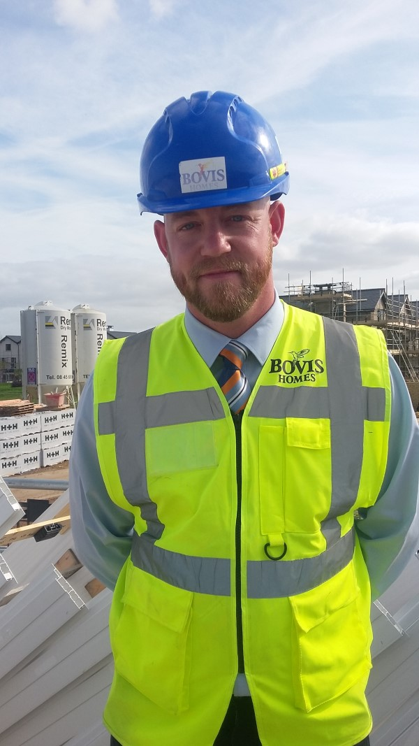 Image for Lee relishing 'best job since leaving the Army' with Bovis Homes