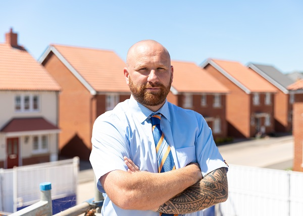 Image for Former bricklayer in Seaton wins major industry award for site excellence