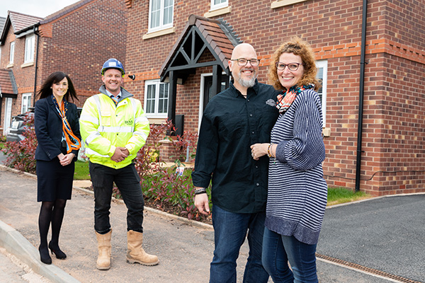 Image for New-build provides hassle-free house move for Brett and family