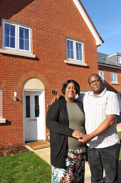 Image for New home owners Zenzo and Tania praise customer-focused team at Ipswich location