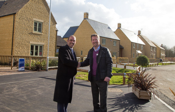 Image for Housing partnership brings more affordable homes to Moreton-in-Marsh
