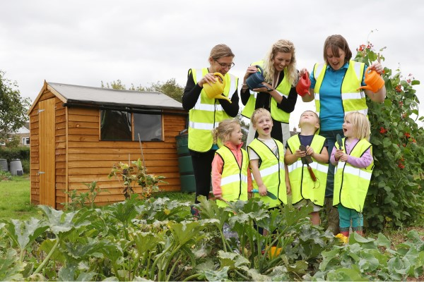 Image for Green-fingered playgroup ready for the winter thanks to Bovis Homes