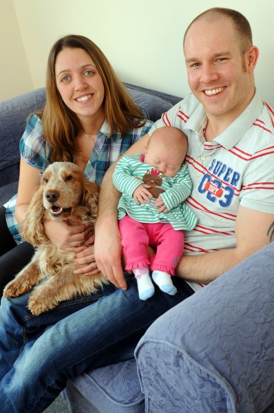 The Stephen's family settled into their new Bovis Home