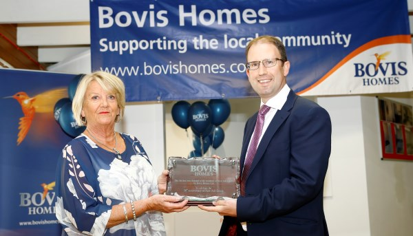 Image for Bovis Homes helps village celebrate 50th birthday