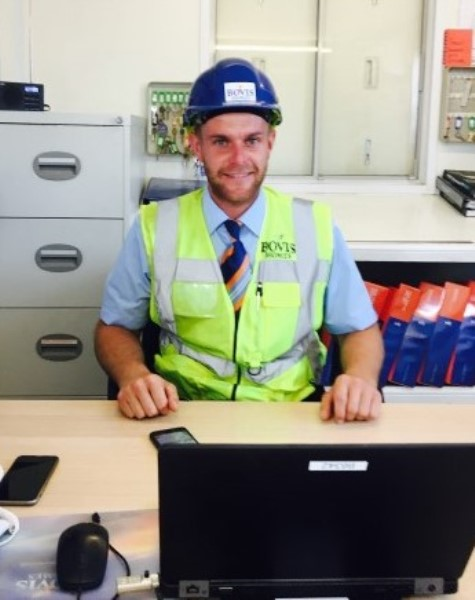 Image for Dedicated site manager Oliver in running for major award
