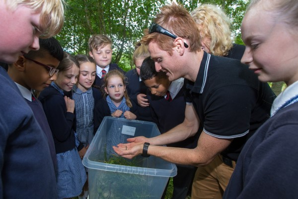 Image for Students go wild for wildlife at Worcestershire golf club