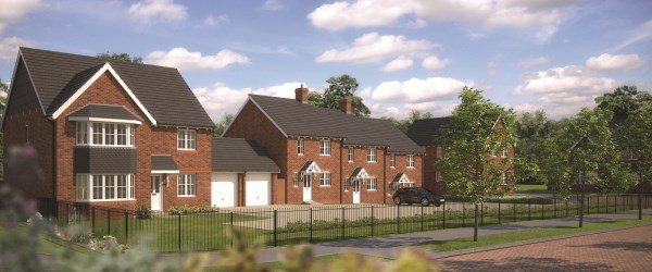 New homes at Haversham Gardens in Newport