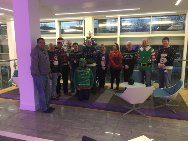 Northern Home Counties Christmas jumpers
