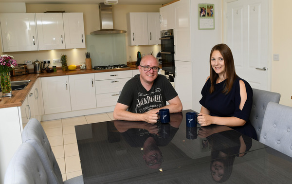 Image for Bovis Homes makes a perfect proposal for Oliver and Laura