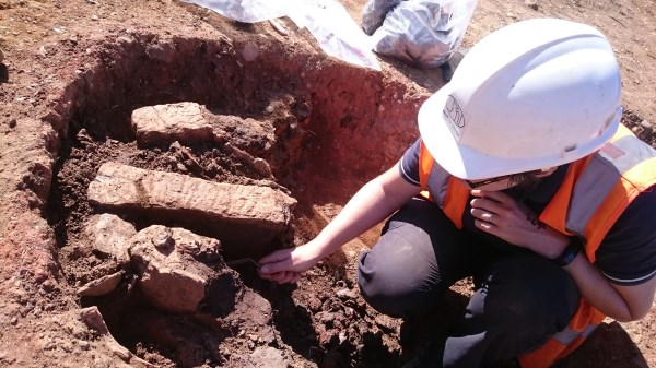 Kilns excavation
