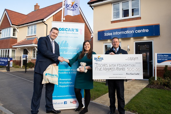 Image for Sussex sales manager leads housebuilder's fund-raising effort in memory of son Jack