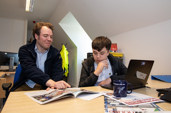 Image for Owen, 17, on work experience: My week with Bovis Homes