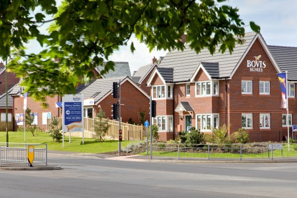 New homes at Elberry Gardens in Paignton