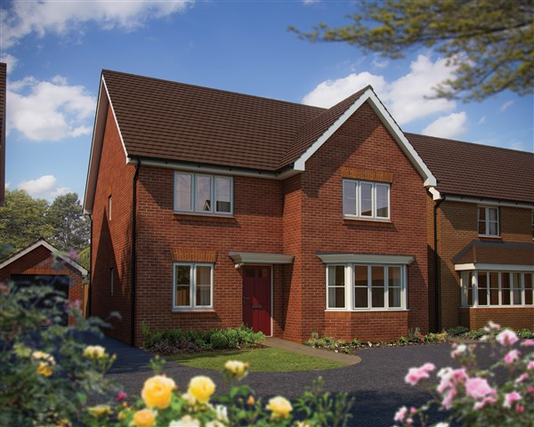 adb7f58a4594 Image for Bovis Homes unveils sparkling new Worcestershire show home