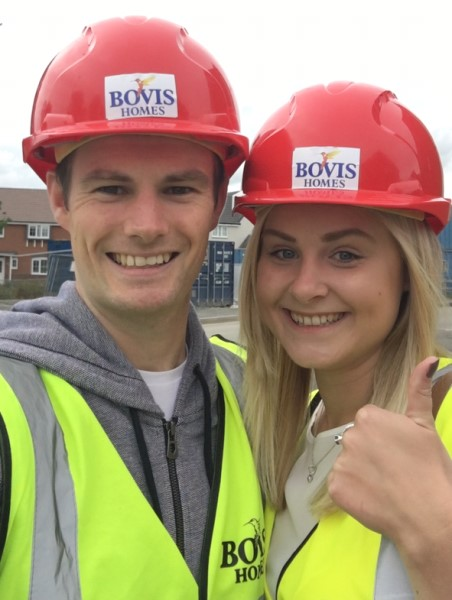 Image for Pictures paint wonderful story for new home owners Tom and Gemma