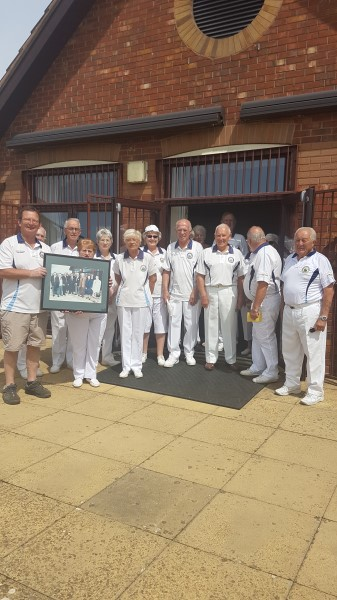 Image for Doors open for local bowls club thanks to home builder's contribution