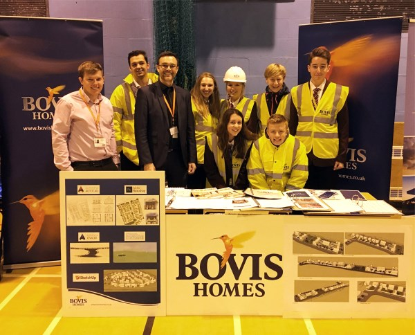 Image for Building career plans with Bovis Homes