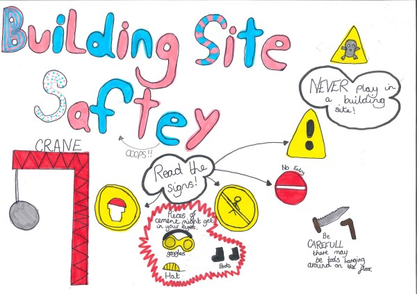 Winning Health and Safety poster by Holly Woodings