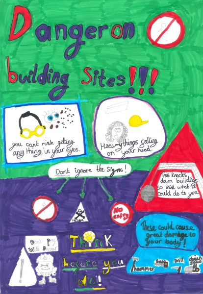 Winning Health and Safety poster by Mia Harvey