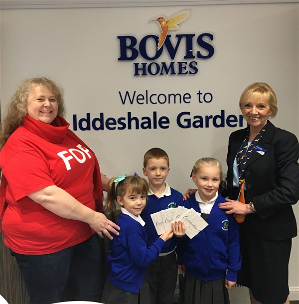 Image for Bovis Homes supports Telford school