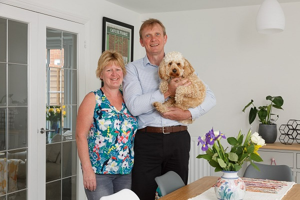 Image for Active Ipswich family relish lifestyle after smooth move into new-build home