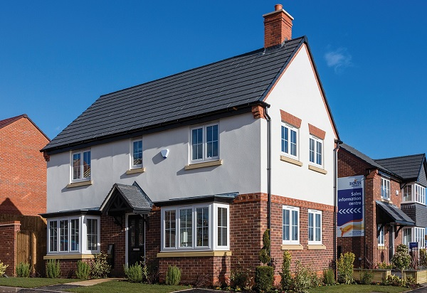 Image for Home hunters in Lichfield visit new-build location by housebuilder with environmental focus