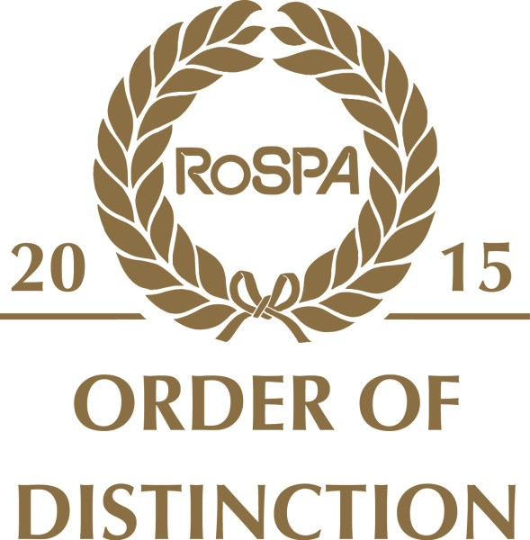 RoSPA Occupational Health and Safety Awards 2015