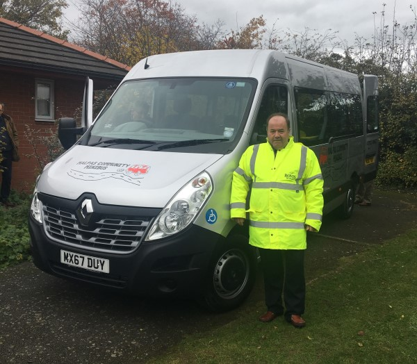 Image for Malpas more mobile as Bovis Homes joins community's minibus drive