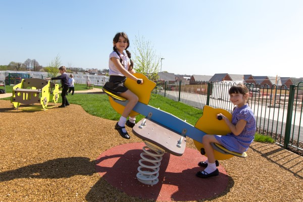 Image for Fun at Longhedge Village as new play park opens