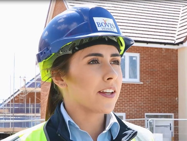 Image for Gemma, 23, says female role models at national housebuilder are paving the way
